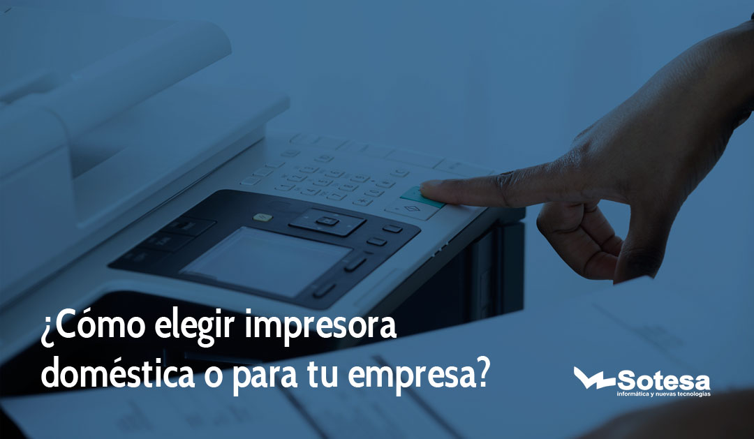 como elegir impresora
