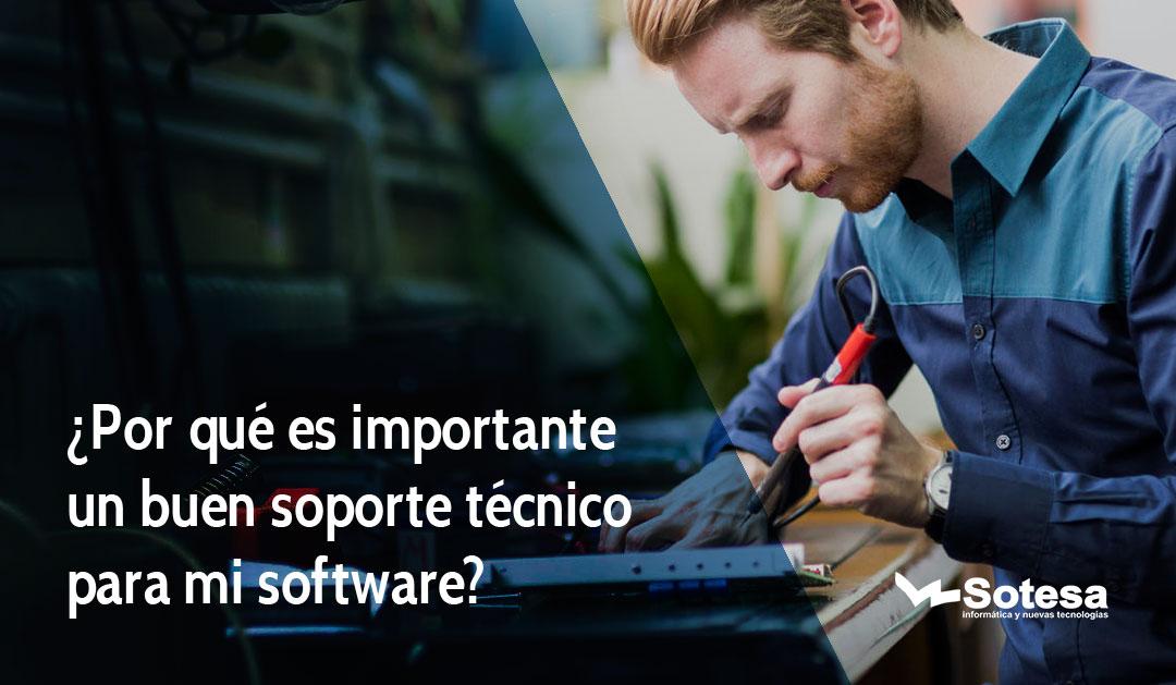 soporte tecnico para software