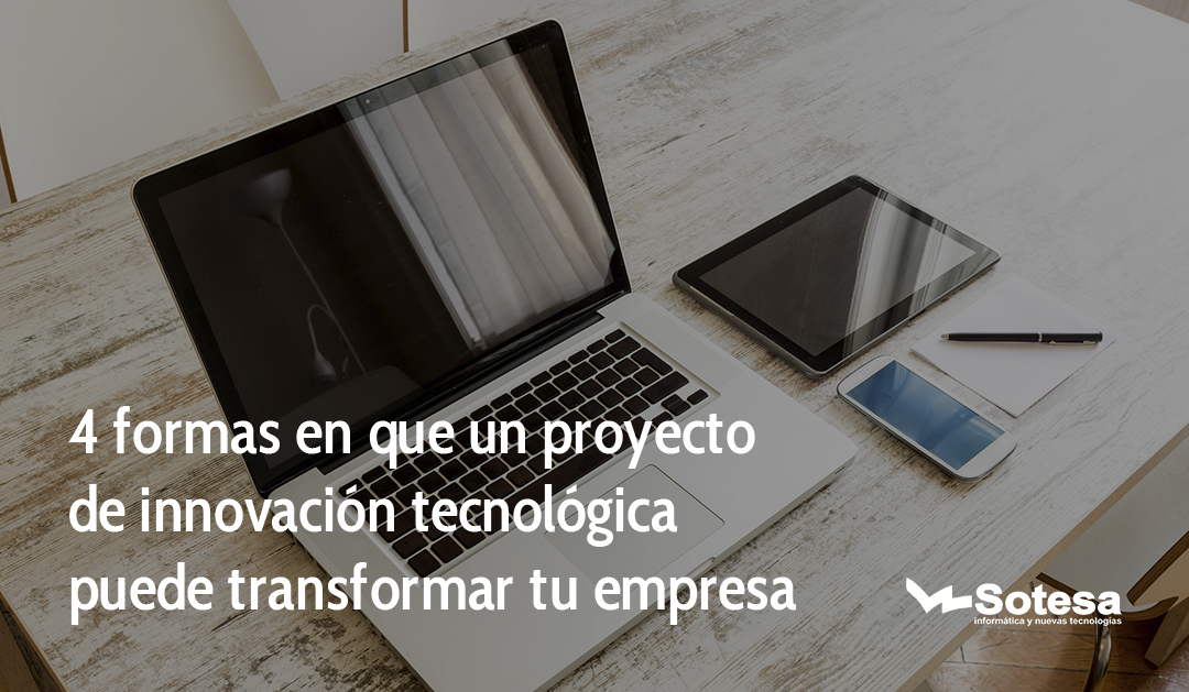 innovacion tecnologica en la empresa